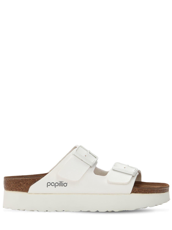 9558fe5518b Birkenstock Papillio Arizona Platform Sandals in White - Save 10% - Lyst