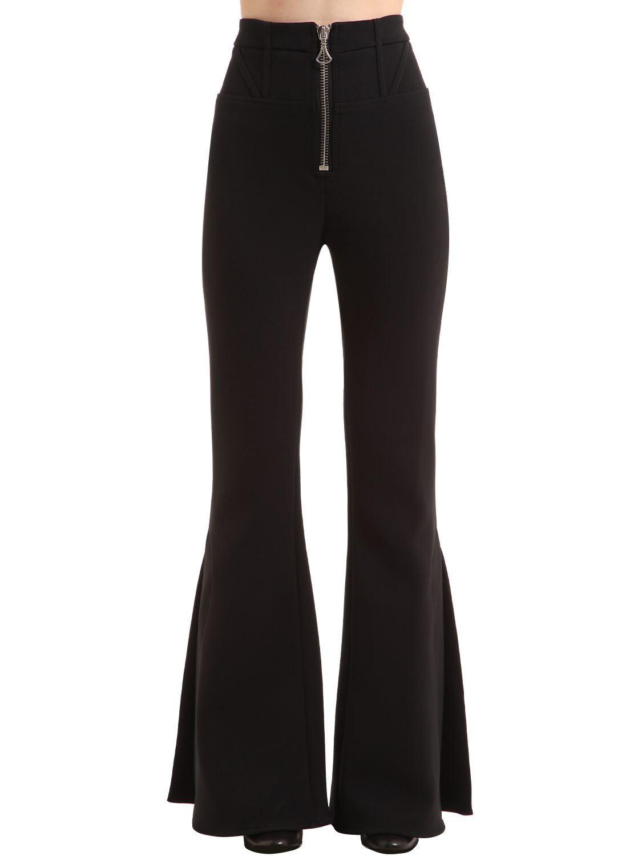 high waist flared trousers - Black Ellery X6QRcm7