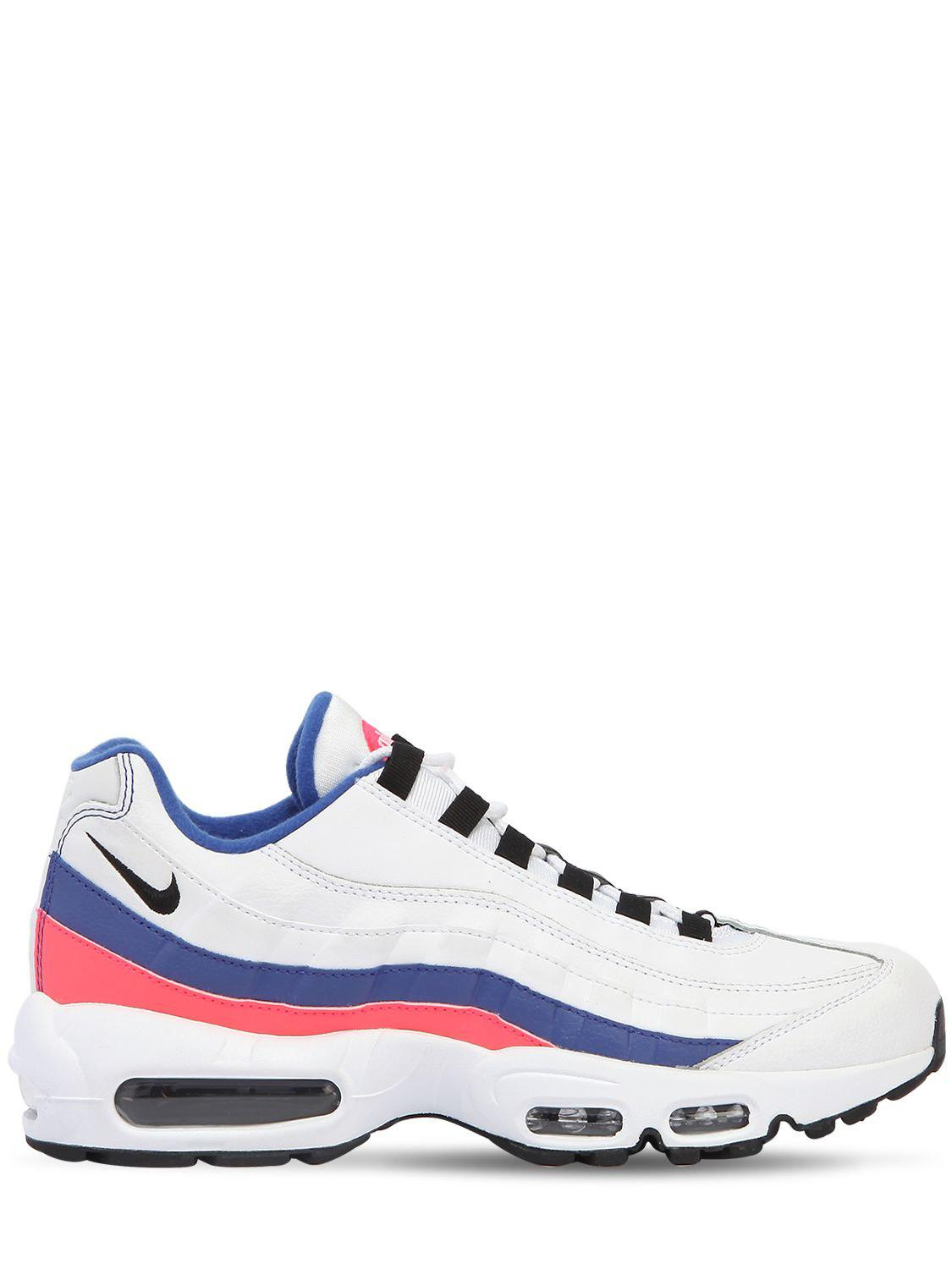5052199faf8 Nike Air Max 95 Essential Sneakers in Blue for Men - Lyst