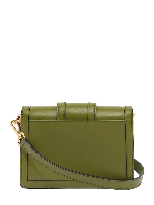 Lyst Serapian 1972 Mini Leather Shoulder Bag In Green