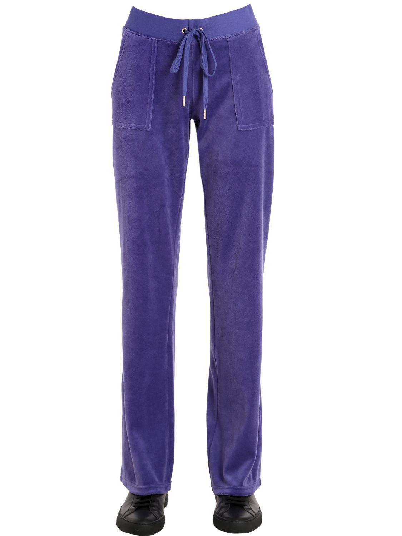 76869ef852b Lyst - Pantalon De Jogging En Velours Juicy Couture en coloris ...