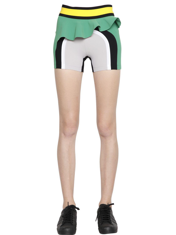 Haku paneled microfiber shorts No Ka'Oi IXnBh