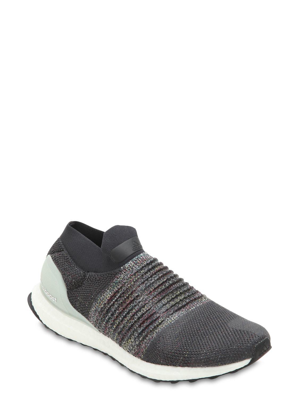 99e805a5fd3 Lyst - adidas Originals Ultraboost Laceless Primeknit Sneakers in Gray for  Men