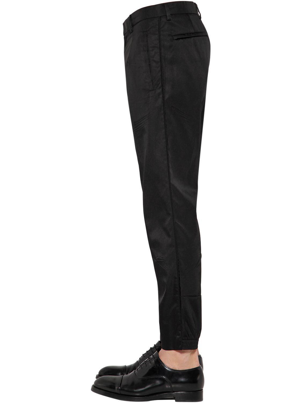 Lyst - Pantalon style jogging en nylon Prada pour homme en coloris Noir d090547e6eb