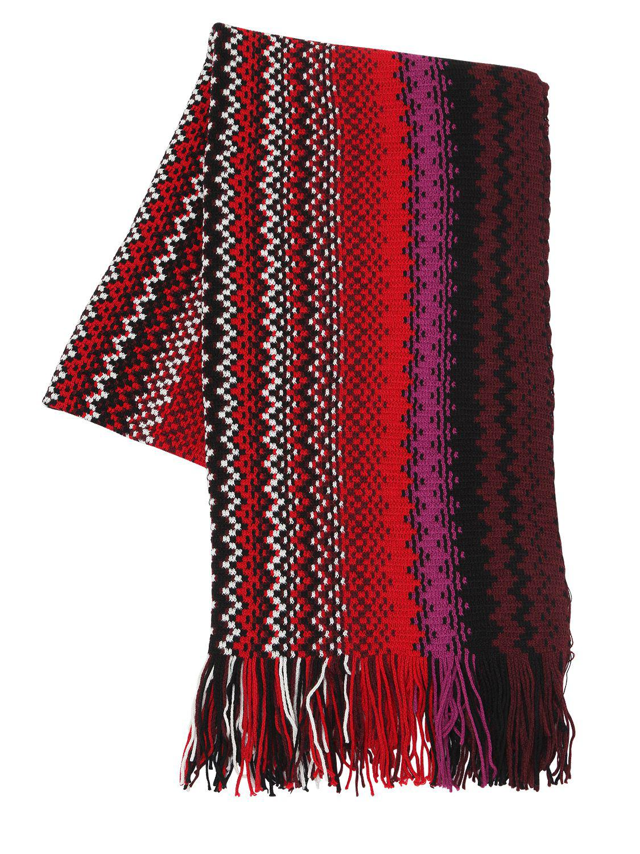 glittery striped scarf - Multicolour Missoni 5DyGXTPXw