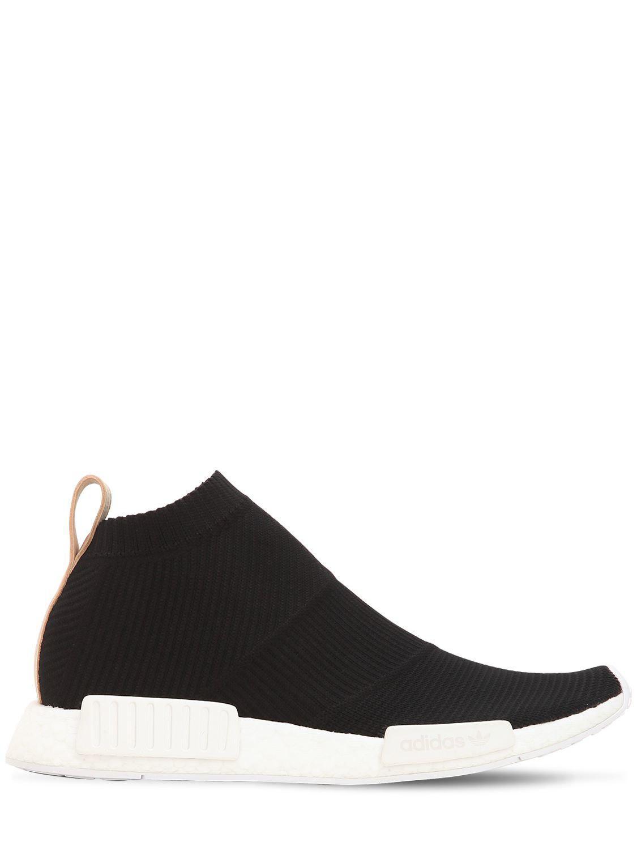 2fea8b702 Lyst - adidas Originals Nmd Cs1 Primeknit Sneakers in Black for Men ...