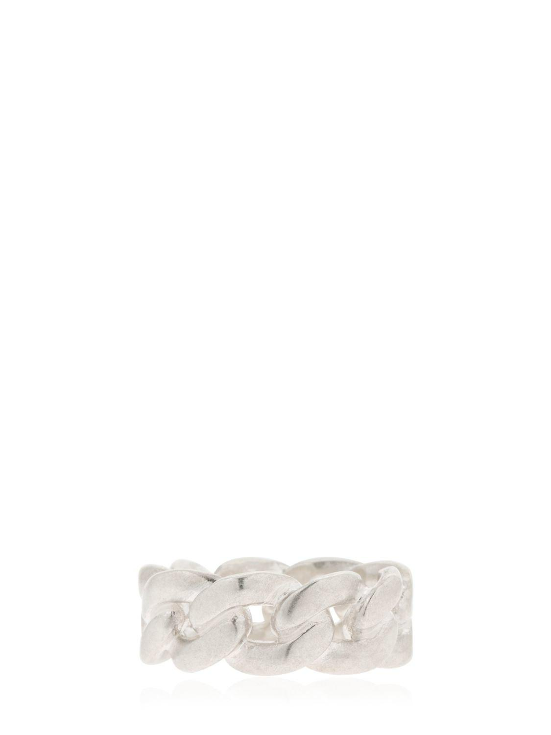 Maison Martin Margiela chain-link ring - Metallic