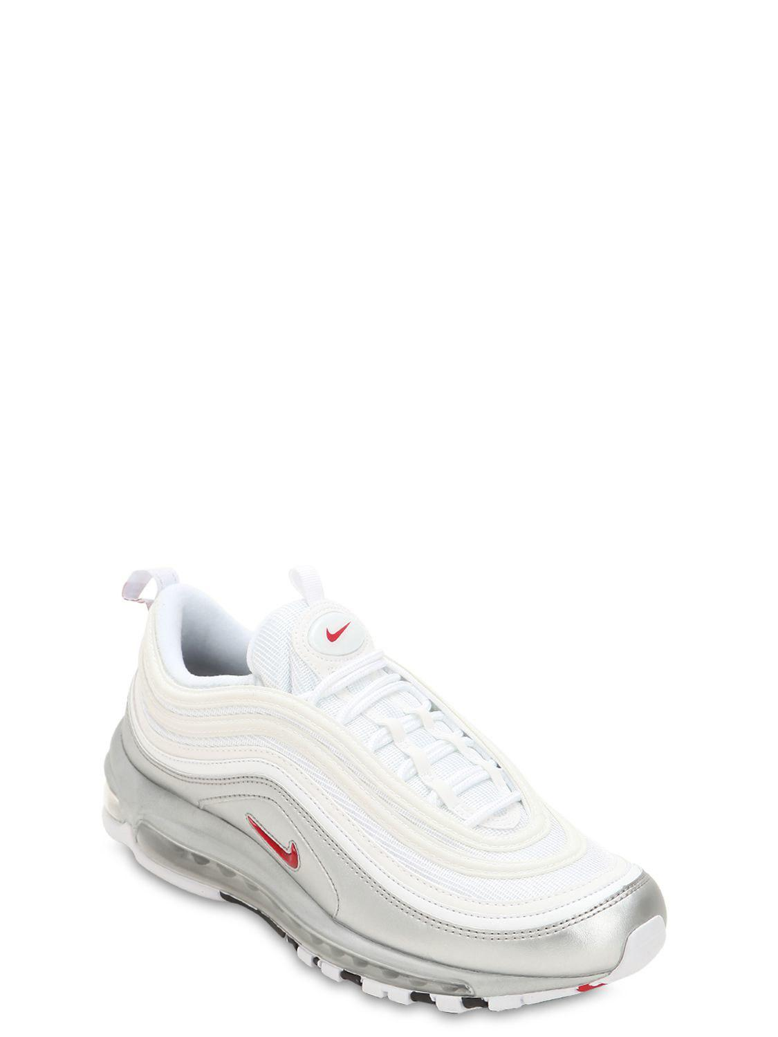 best sneakers f7f37 a033c Nike - White Air Max 97 Qs Sneakers for Men - Lyst. View fullscreen