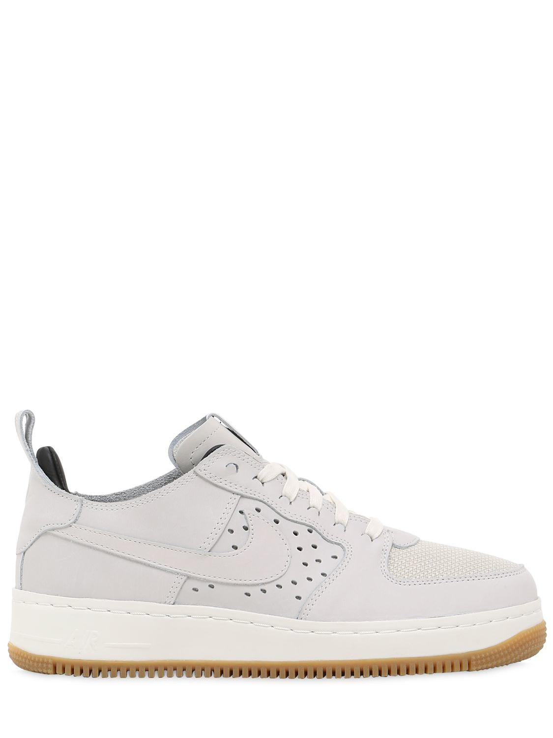 Nike. Men's White Air Force 1 Cmft Tc Sp Sneakers