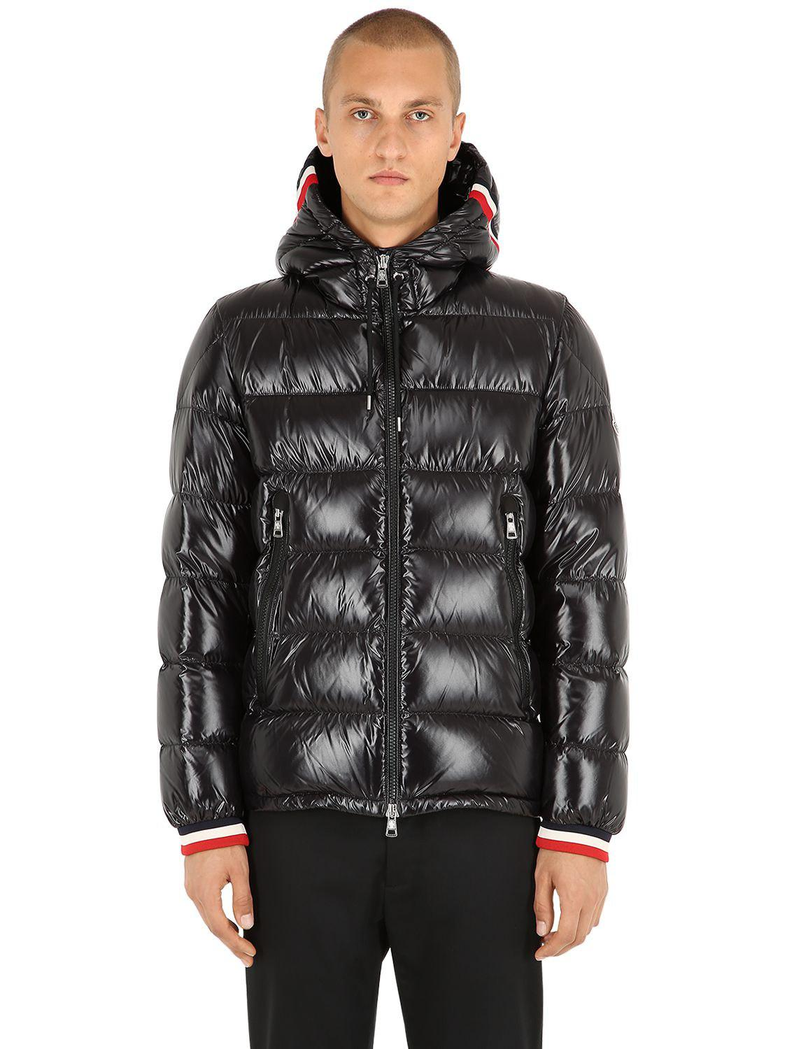 a9a302ff0a82 Moncler Black Down Alberic Jacket in Black for Men - Lyst