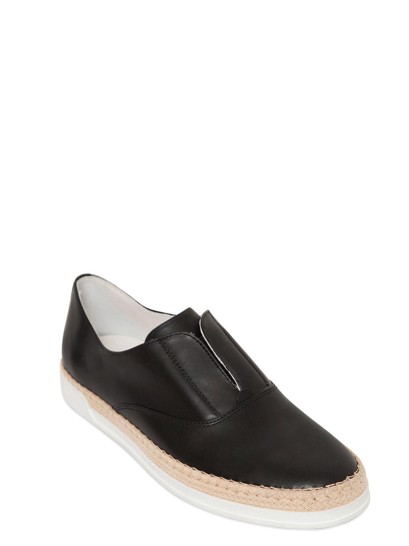 Rebel Ariel Black Leather Designer Shoes