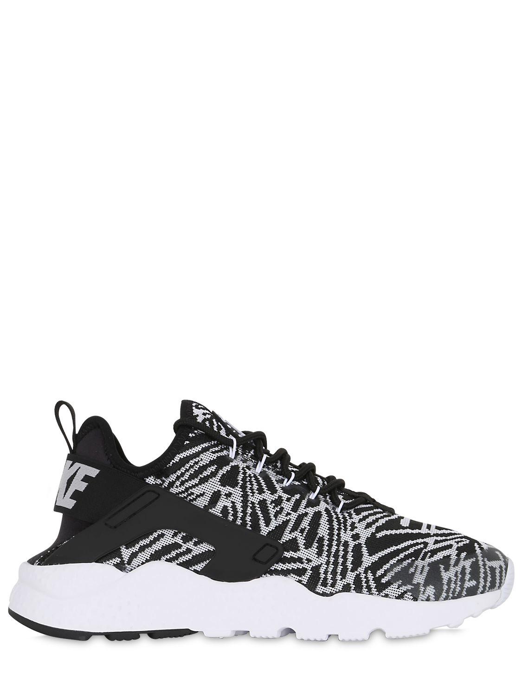 c9f5558790c0 ... greece lyst nike air huarache run ultra mesh sneakers in gray 1c1e3  4e984