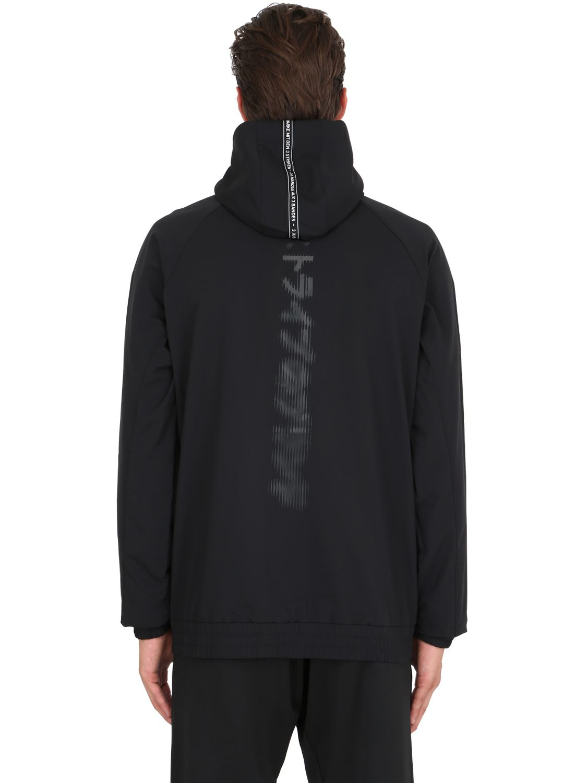 Marcus work quote Faux Fur Collar Asymmetric Hem Poncho Plain Coats big cartel boutique