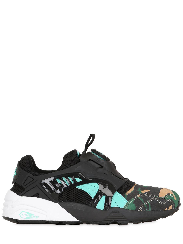 764780c9db21 Lyst - Puma Select Atmos Disc Blaze Night Jungle Sneakers for Men