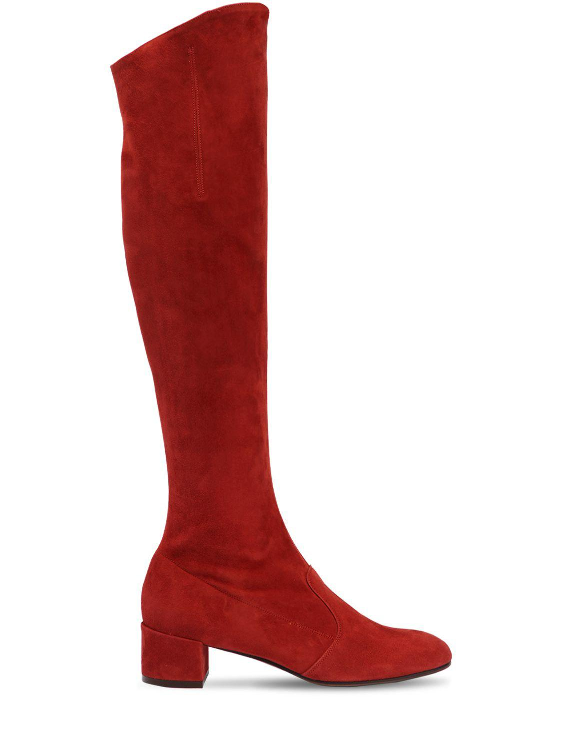L Autre Chose 30MM BARBARELLA SUEDE OVER THE KNEE BOOT NlD30IY3
