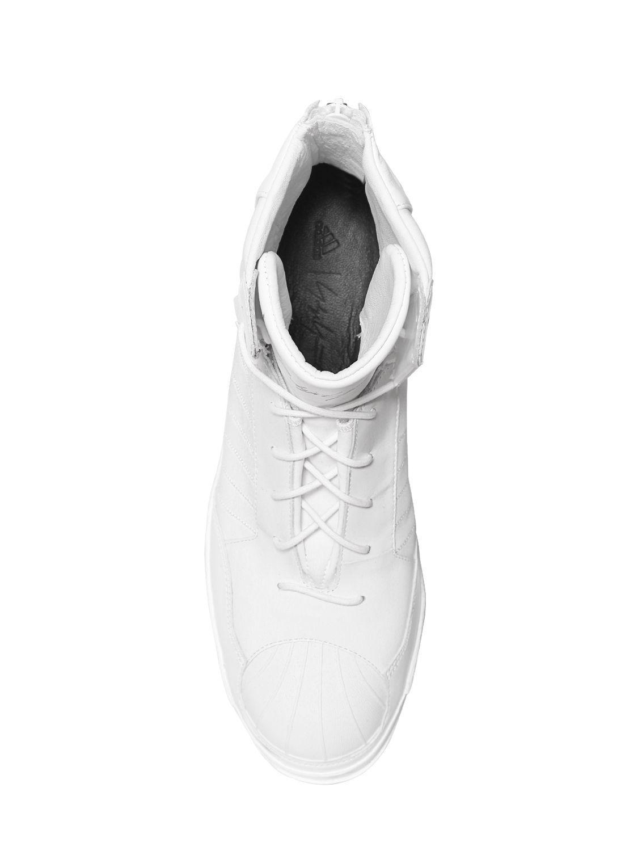 c5739f0c62e40 Yohji Yamamoto Adidas Superstar Neoprene Punk Sneakers in White for ...