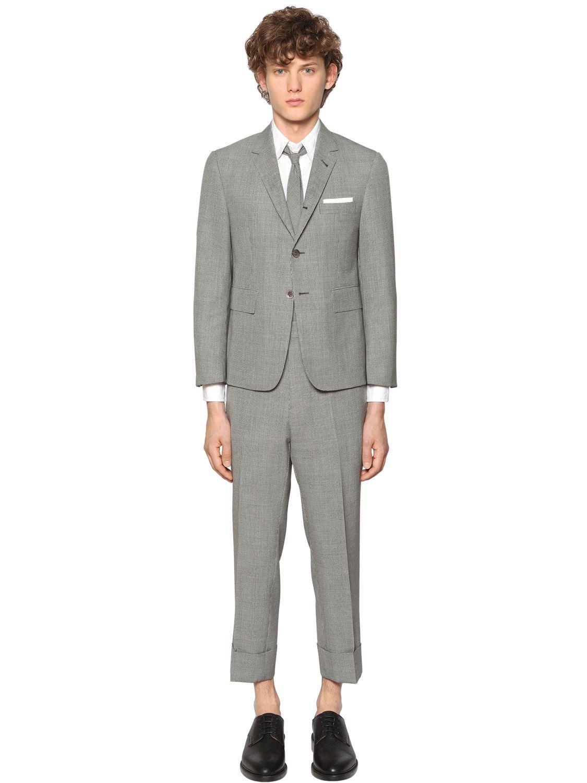 Men S Fashion Grey Jacket