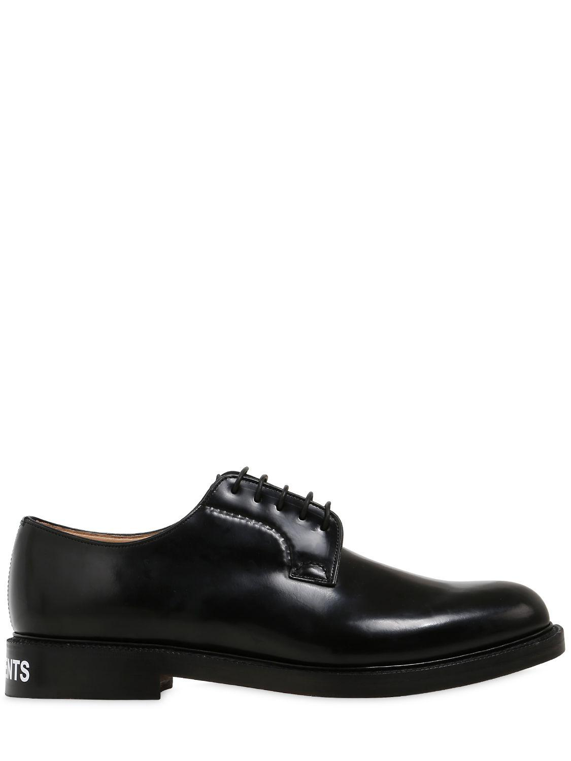 Leather Laceup Avery Shoes