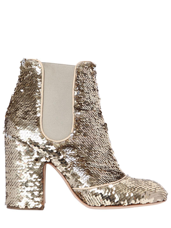 sequin embellished boots - Metallic Laurence Dacade AlEqWRm9