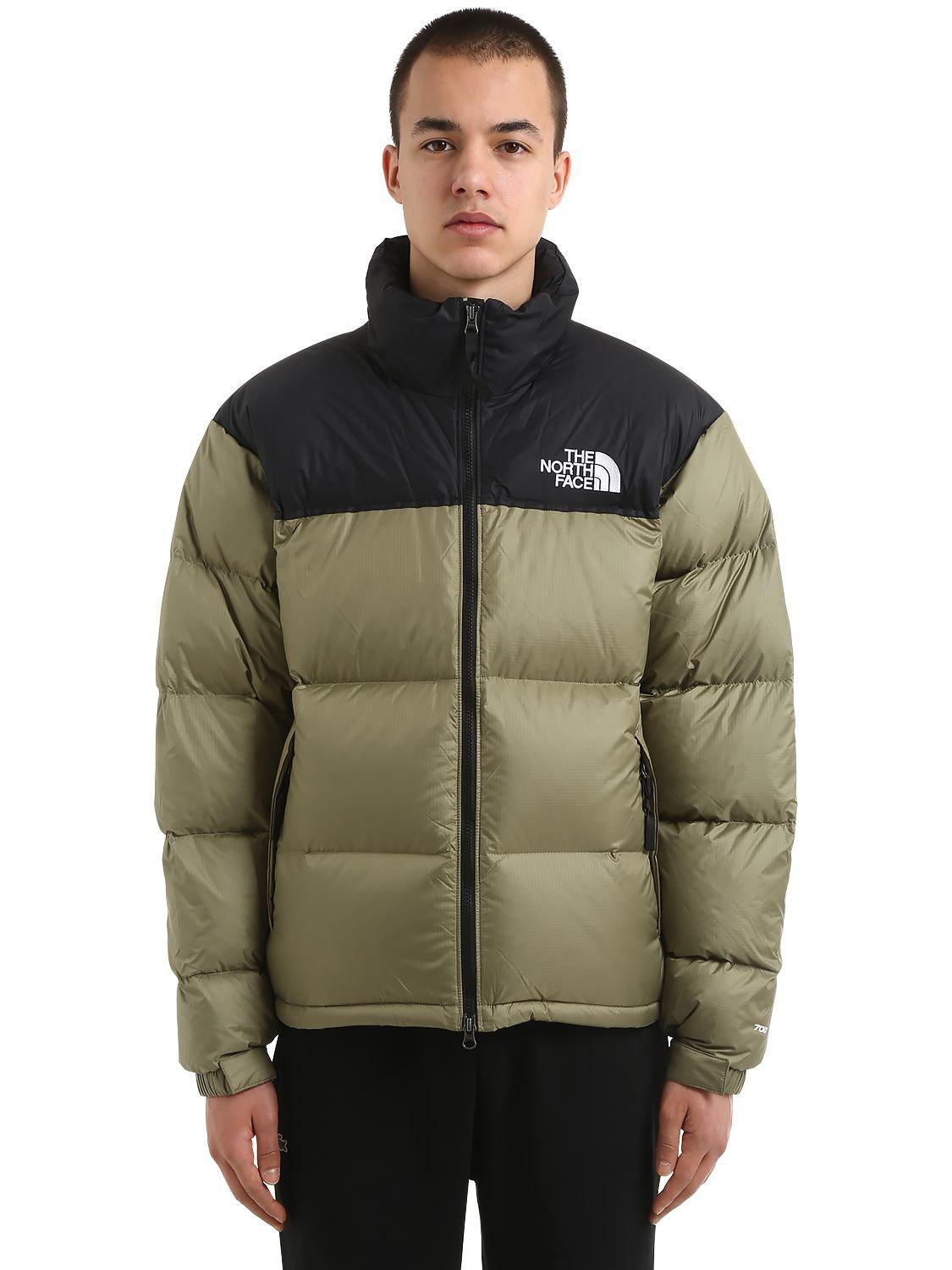 6214daceb0a The North Face 1996 Retro Nuptse Down Jacket in Green for Men - Lyst