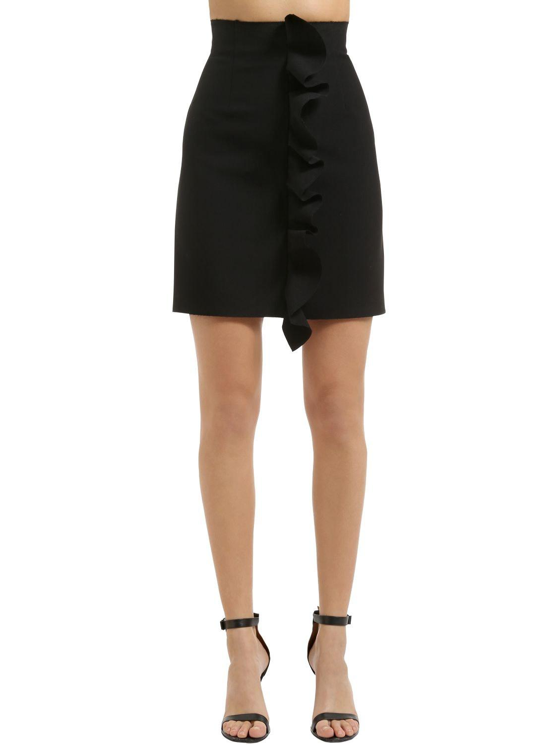 Short skirt with ruffles Msgm Factory Sale Visit New For Sale Free Shipping Supply iUhhh