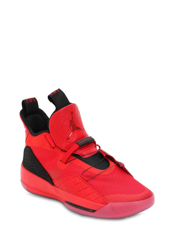 cac8496cccd Nike Air Jordan Xxxiii Sneakers in Red for Men - Lyst
