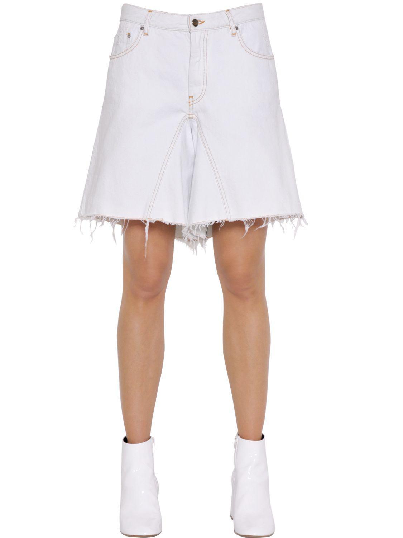 Cheap Low Cost wide leg shorts - Blue Maison Martin Margiela Latest Collections Sale Online mSgGM