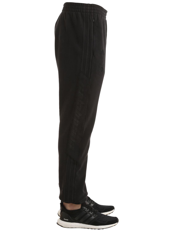 b6239fa6 Yeezy Calabasas Cotton Sweatpants in Black for Men - Lyst