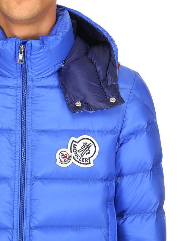 ec4e73b4c Moncler Bramant Nylon Down Jacket in Blue for Men - Lyst