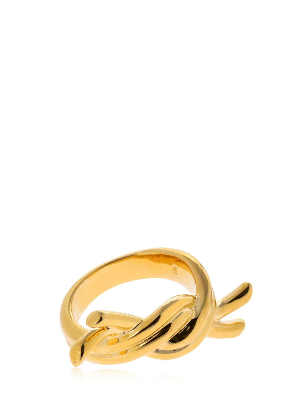 Eshvi diamond encrusted 18kt gold ring - Metallic iBFwa8FRc
