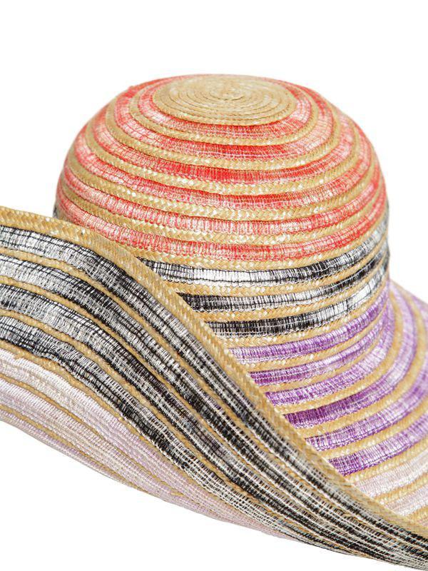 Missoni - Multicolor Wide Brim Straw Hat - Lyst. View fullscreen 0ad3650668e9