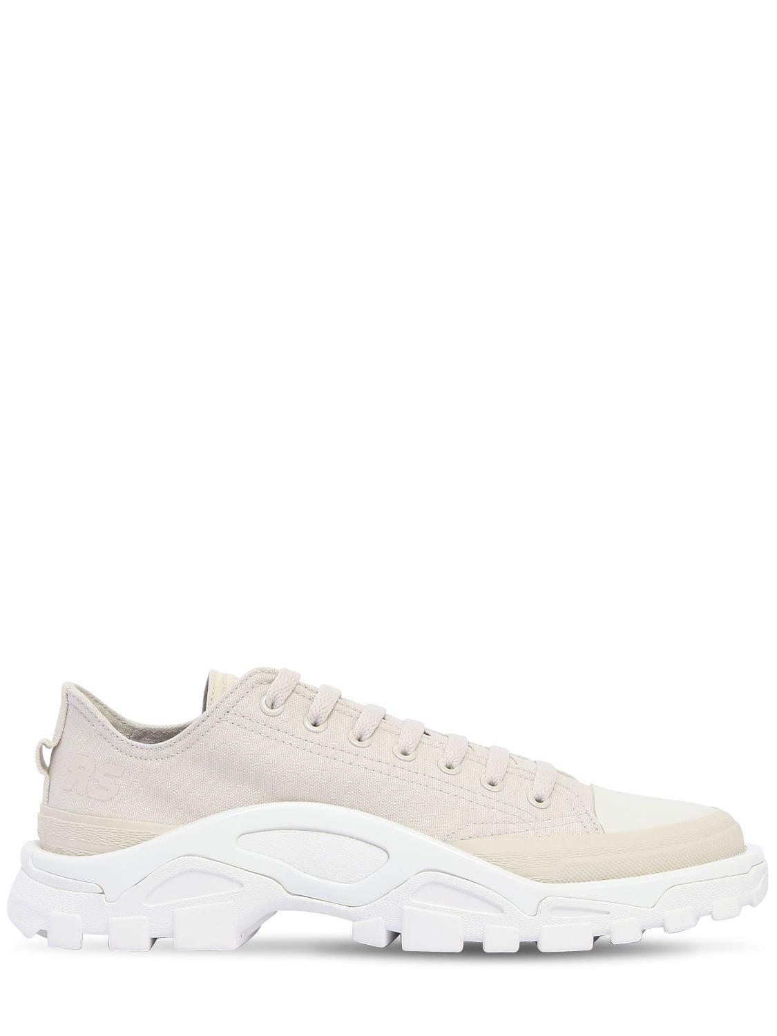 reputable site 1acd2 15690 adidas By Raf Simons. Mens White Rs Detroit Runner Sneakers