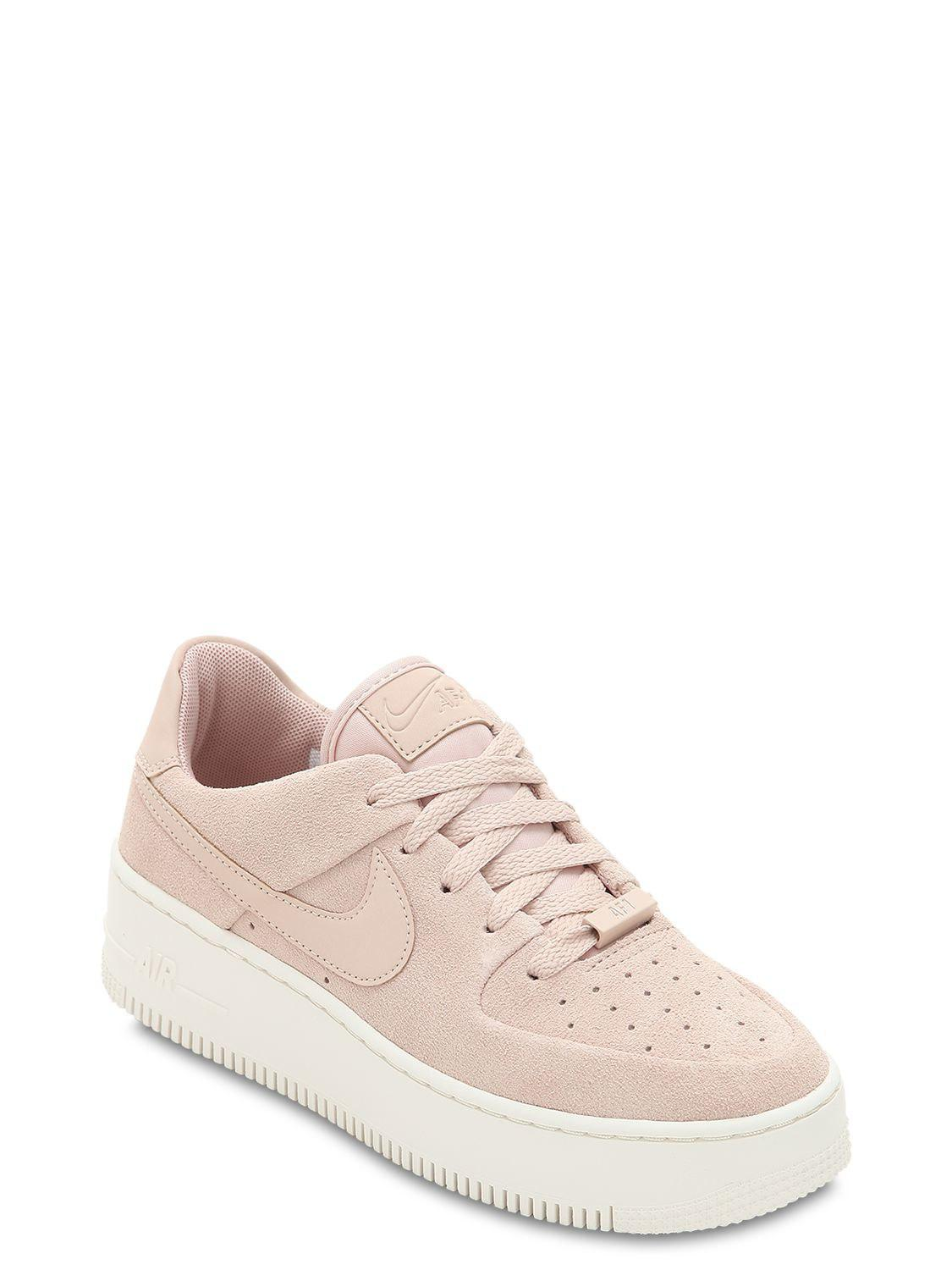 d00e01d288e Lyst - Nike Air Force 1 Sage Xx Platform Sneakers in Pink