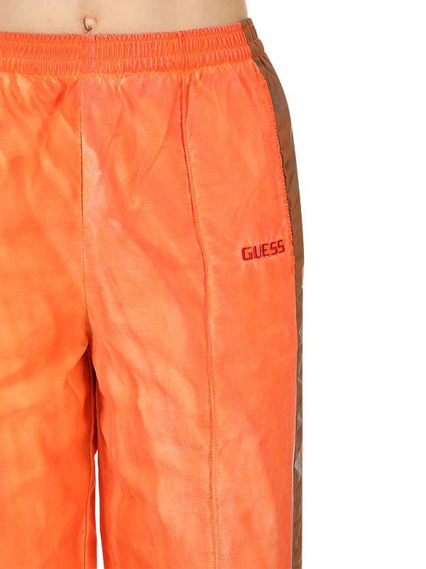 503427dab39b0d Guess Sean Wotherspoon Side Bands Track Pants in Orange for Men - Lyst