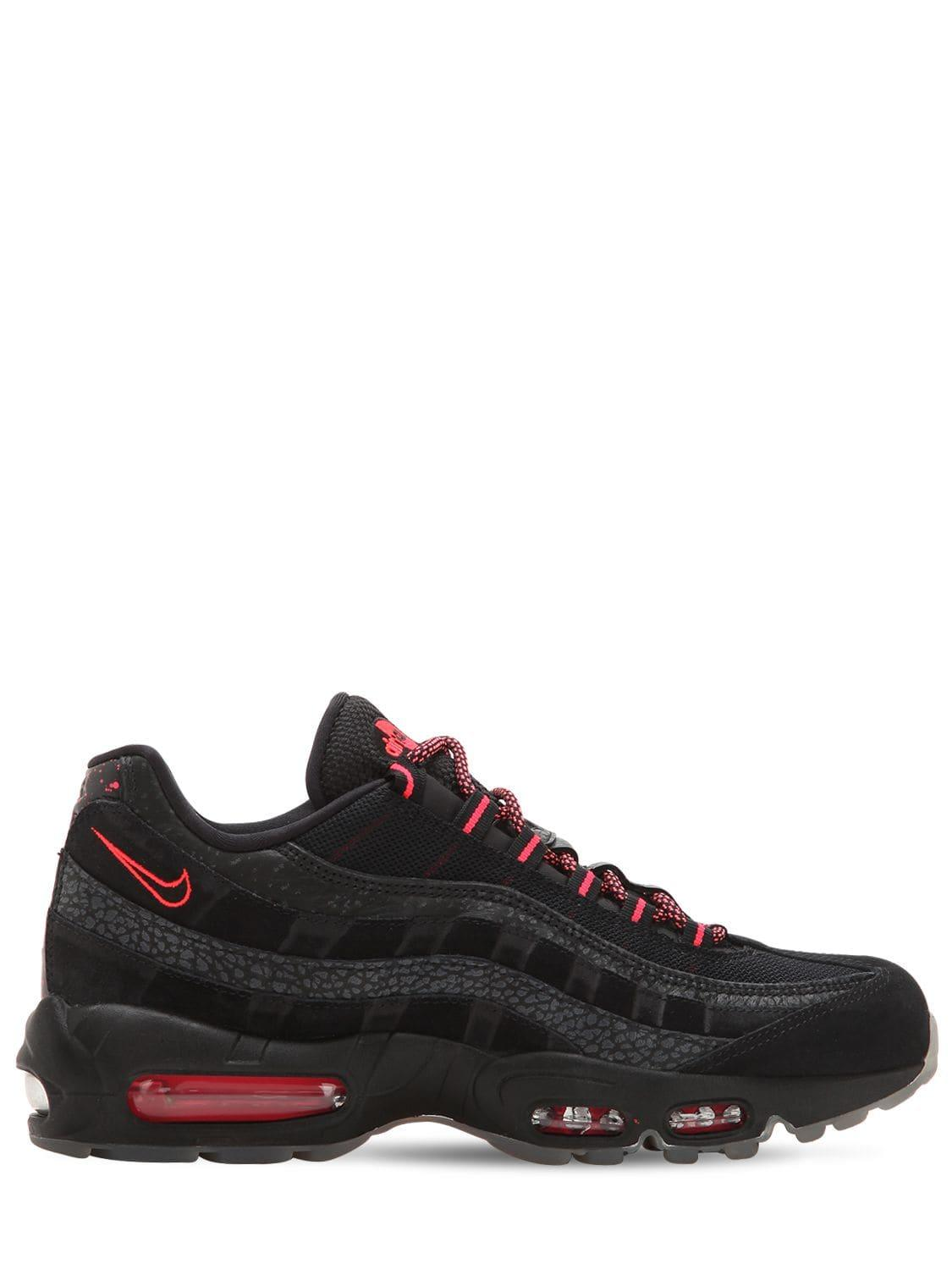 4327db1957b Lyst - Nike Air Max 95 We Sneakers in Black for Men
