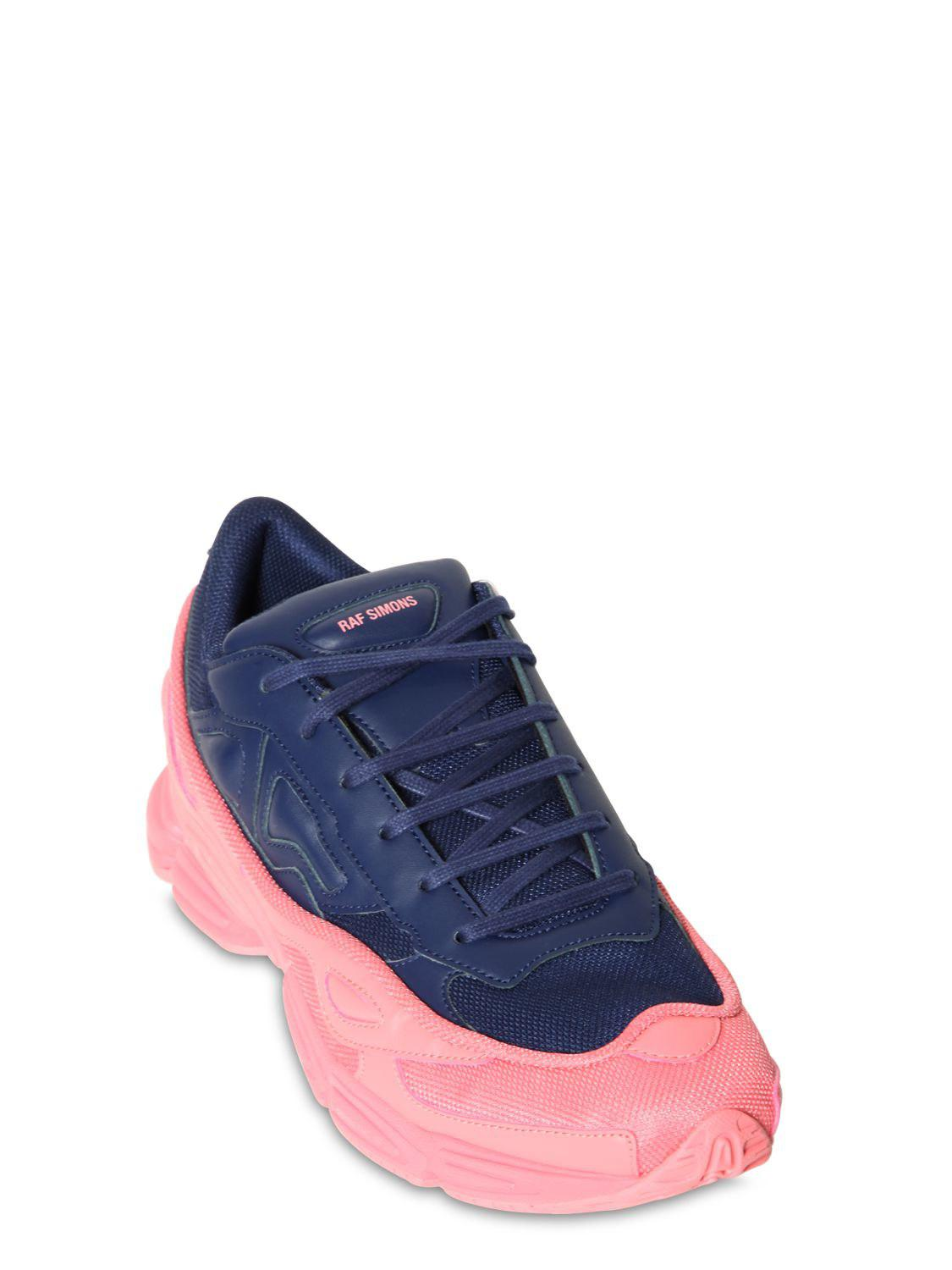 645c0418ef40 Lyst - adidas By Raf Simons Rs Ozweego Iii Two Tone Sneakers in Blue for Men