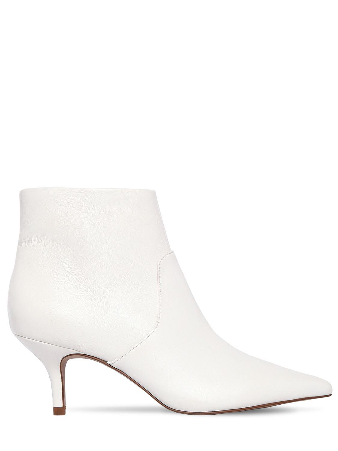 Steve Madden 60MM ROME LEATHER BOOTS YsDfjE
