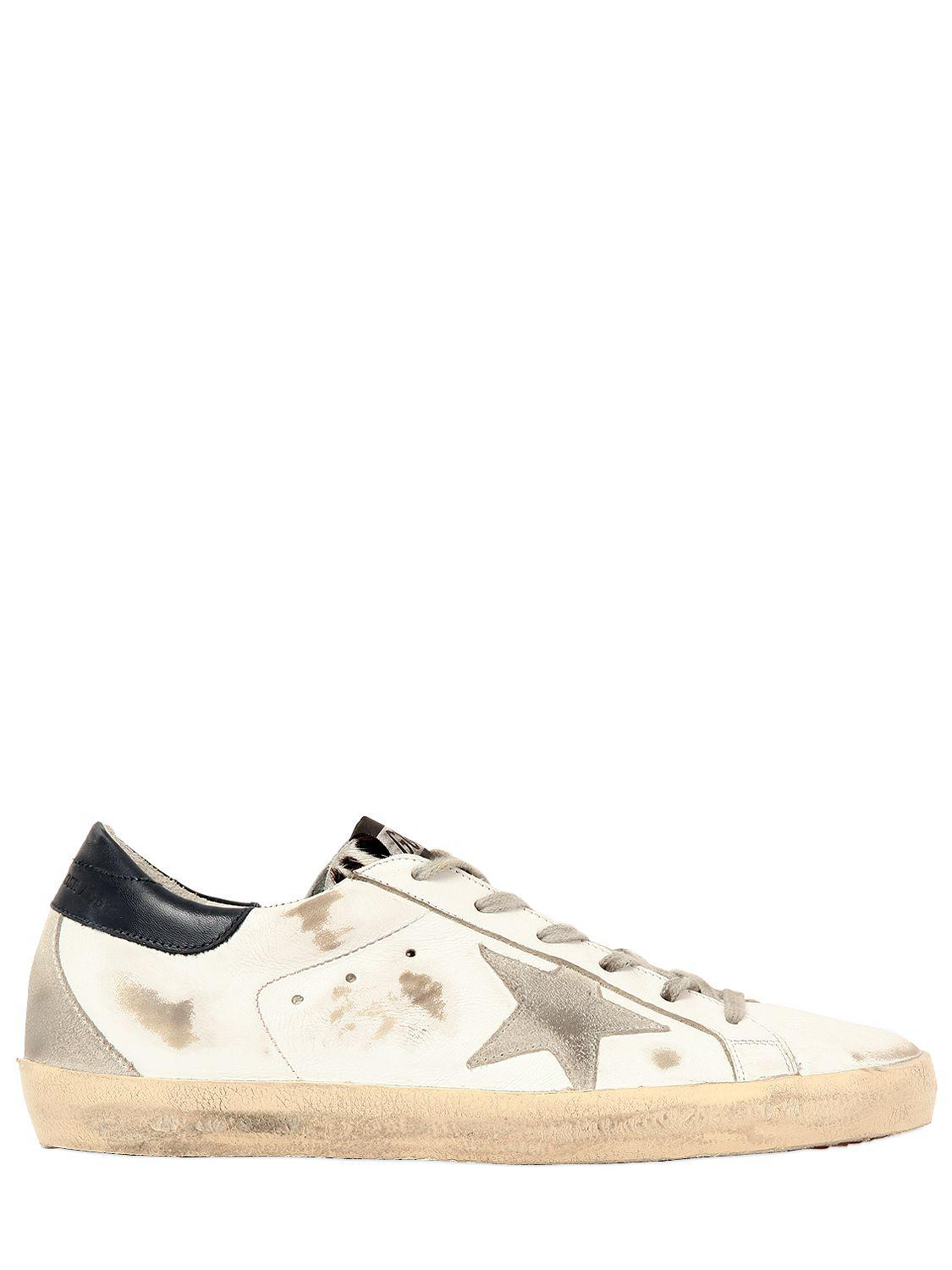 Golden Goose 20MM SUPER STAR PONYSKIN TONGUE SNEAKERS l4cP57NMjA