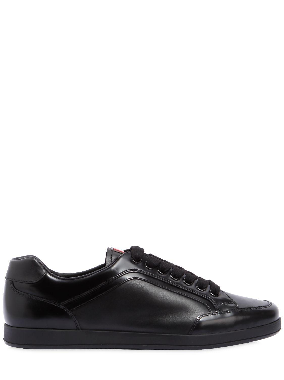 Prada Black Slim Sneakers s0htd3
