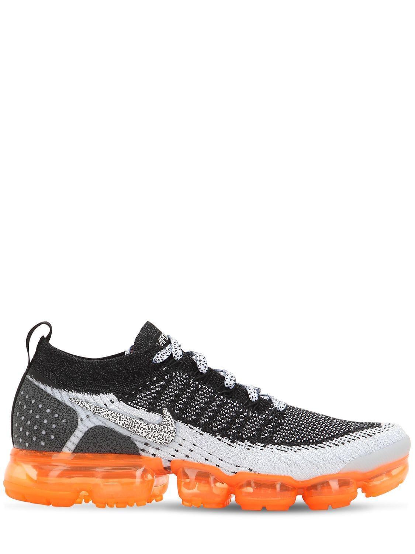 f0ef312dc5 Nike Air Vapormax Vm Flyknit Safari Sneakers in Black for Men - Lyst