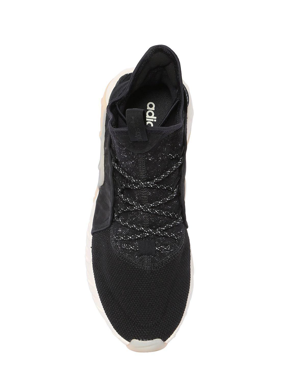 Aumento de punto tubular Lyst adidas Originals zapatilla en negro para hombres