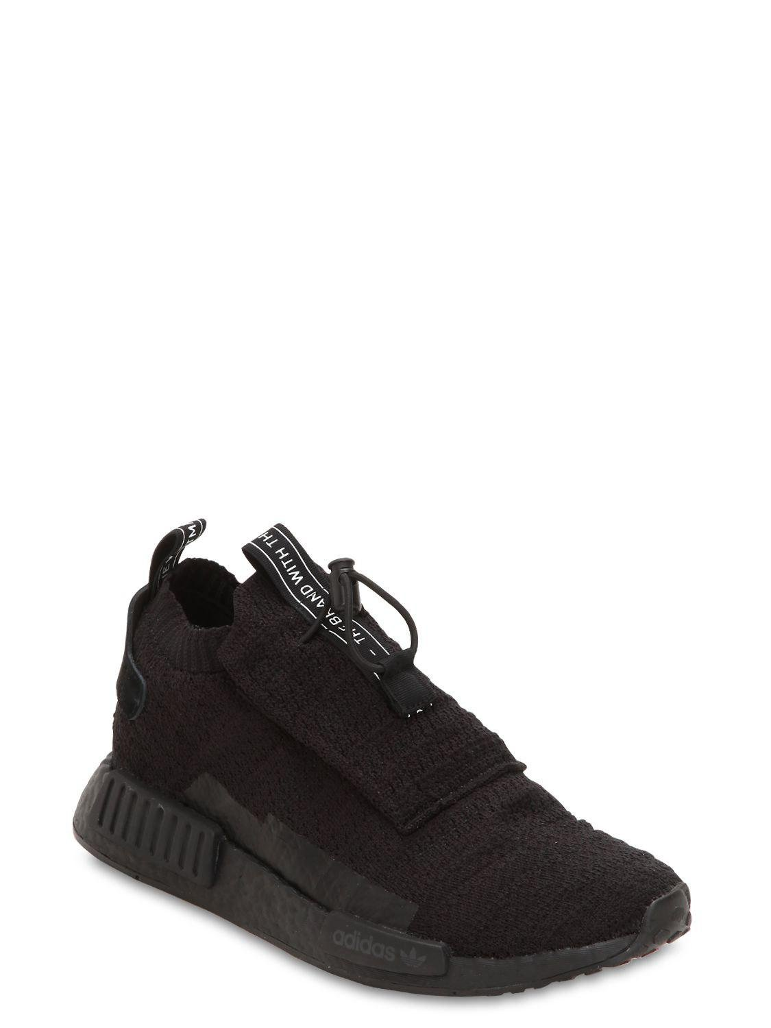new product df6d8 15d2e adidas-originals-BLACK-Nmd-Ts1-Primeknit-Sneakers.jpeg