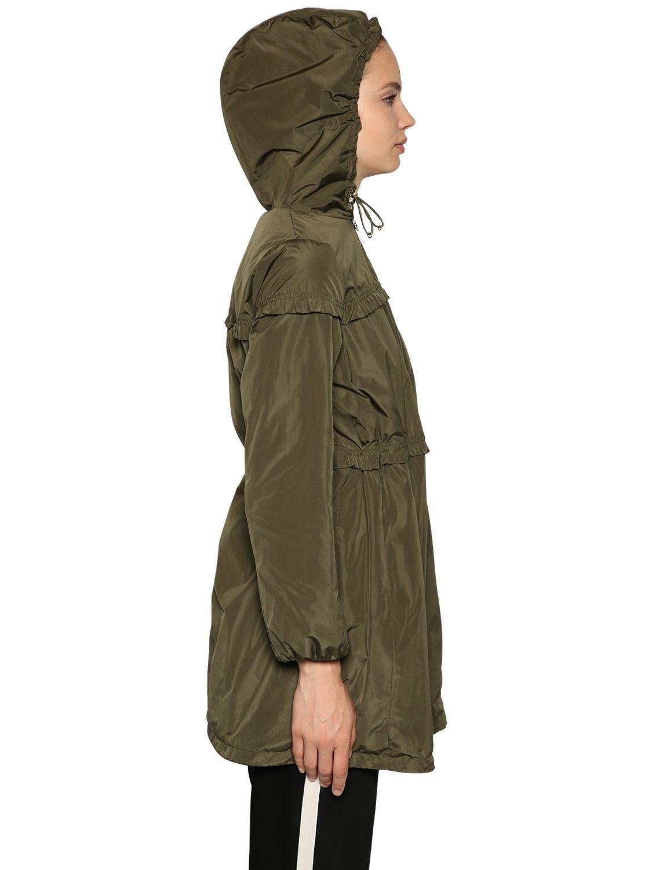 230e8fa0da0d Lyst - Moncler Luxembourg Nylon Down Jacket in Green