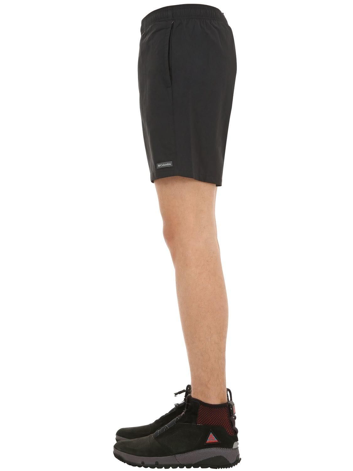fb8aea1cd0 Columbia Roatan Drifter Swim Shorts in Black for Men - Lyst