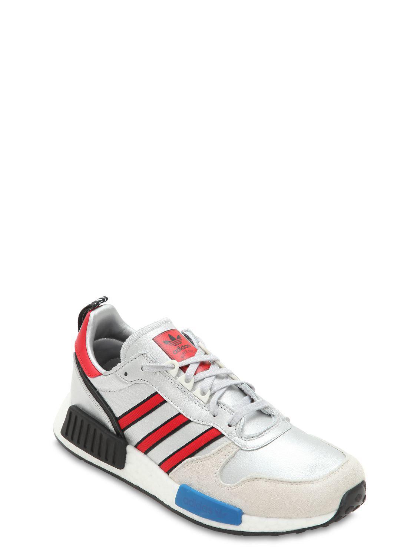 960da0ec611ab8 Lyst - adidas Originals Rising Star X R1 Metallic Sneakers in Metallic for  Men