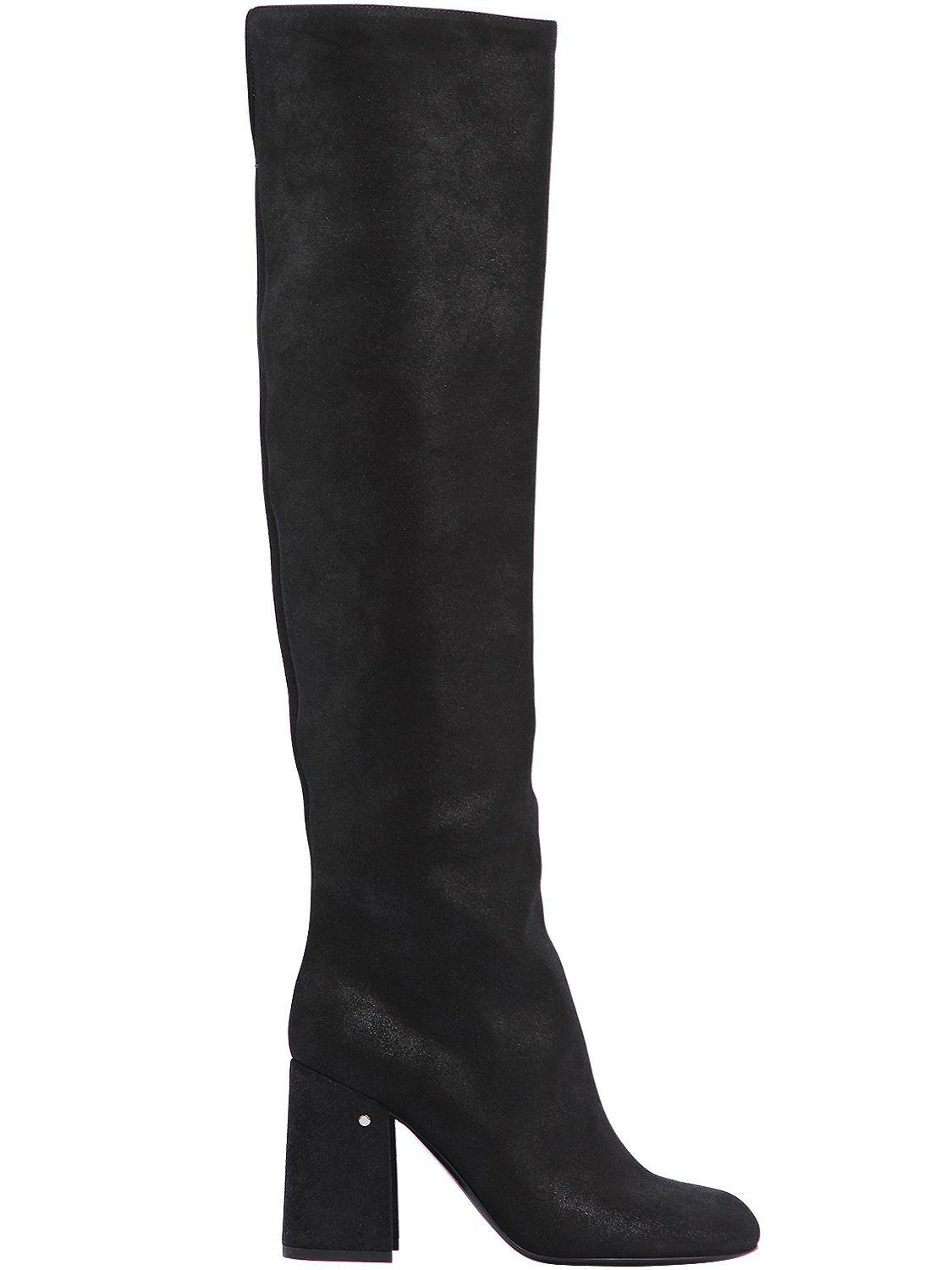 LAURENCE DACADE 90MM PARVEEN SUEDE OVER THE KNEE BOOTS ZBupCEsUb