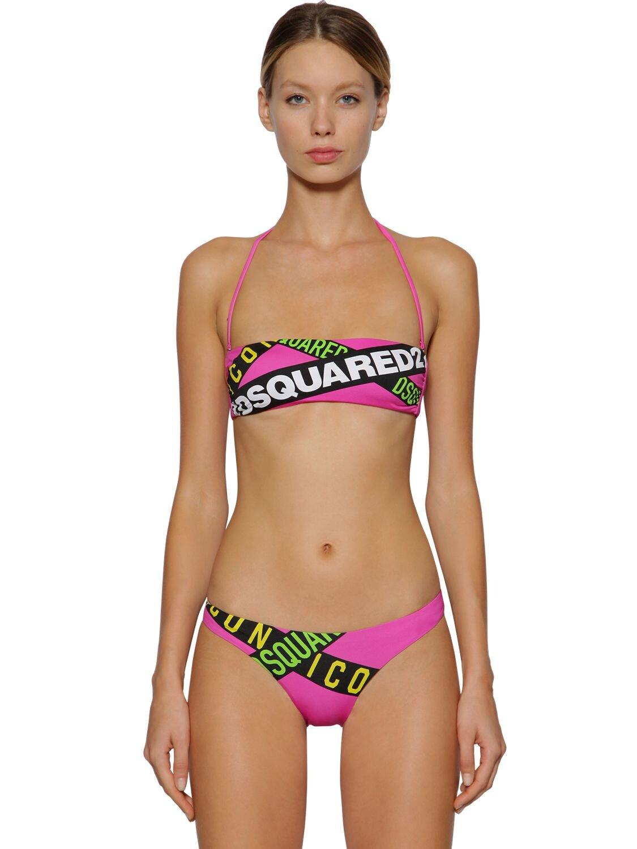 top Lycra bikini