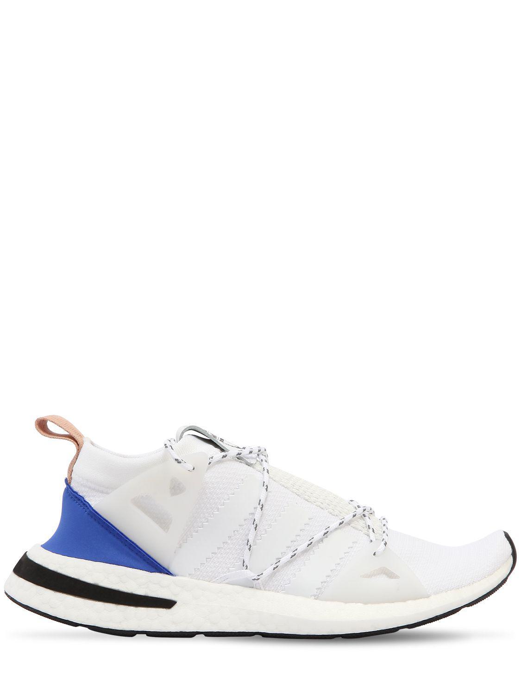 Arkyn Suede-trimmed Mesh Sneakers - Blue adidas Originals l2Ldn