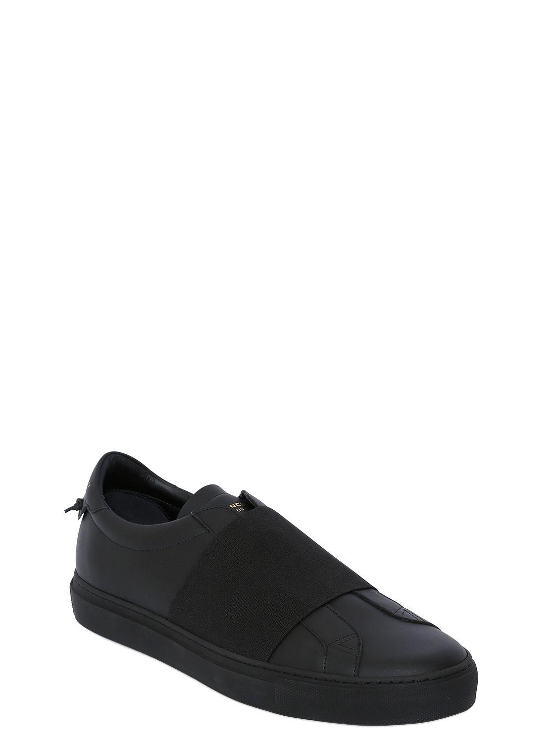 43e6e84a019a7 Lyst - Givenchy Urban Street Leather Slip-on Sneakers in Black for Men