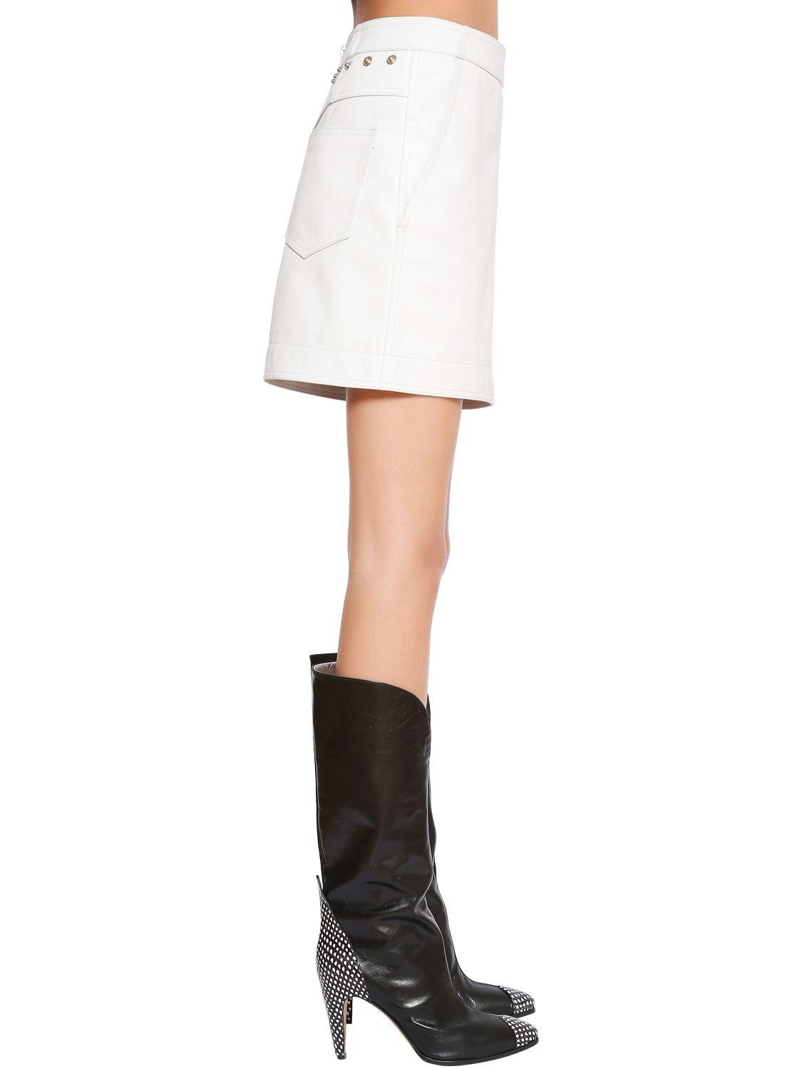 612fbc3174e Gallery. Previously sold at: LUISA VIA ROMA · Women's Leather Skirts  Women's Leather Mini ...